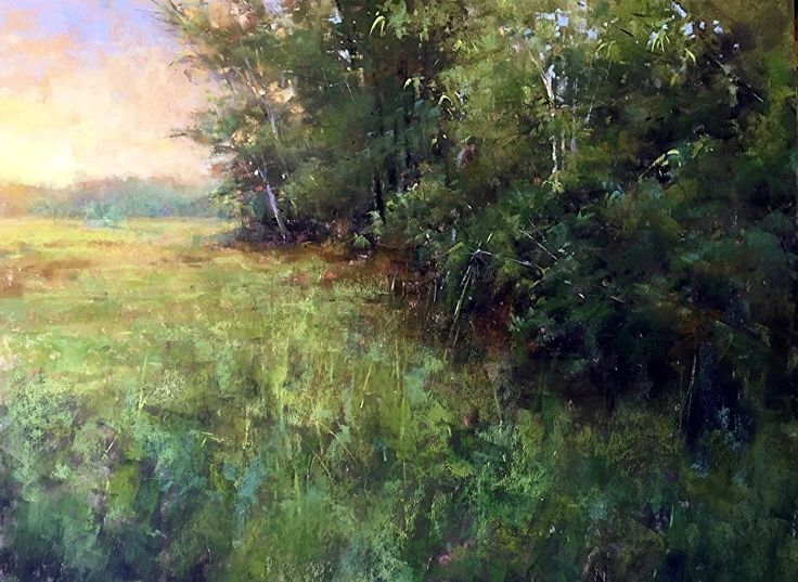 Soft Afternoon by Jacob Aguiar Pastel ~ 12 x 16