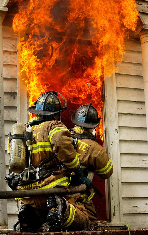 Image detail for -Firefighters with Charlotte Fire Department (CFD) practice their fire ...