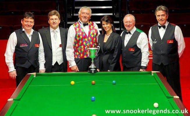 Snooker, my love: The Snooker Legends phenomenon