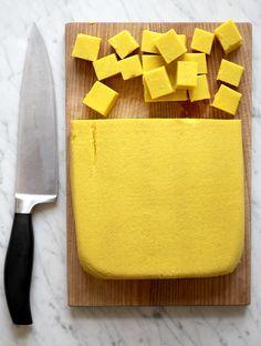 Tofu à base de farine de pois chiche ! Ce truc à l'air fantastique !