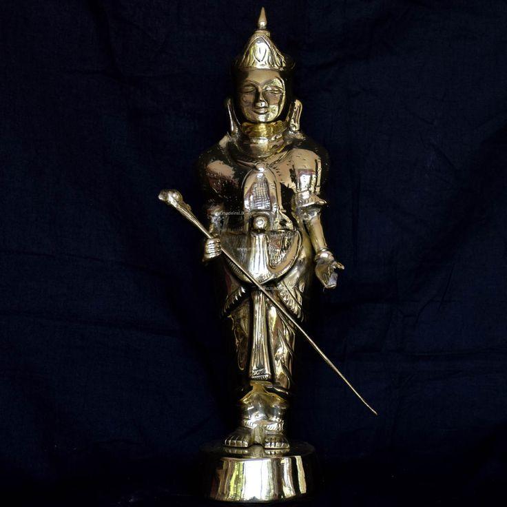 Brass Statue 23-Tani Valli God
