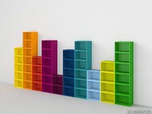 Occasion/Soldes Sadim design boîte de rangement CD ou DVD 24 emplacements