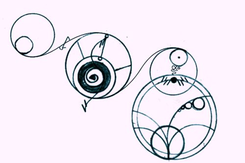 """I will Love you Forever,"" in Gallifreyan. I want this in our home"