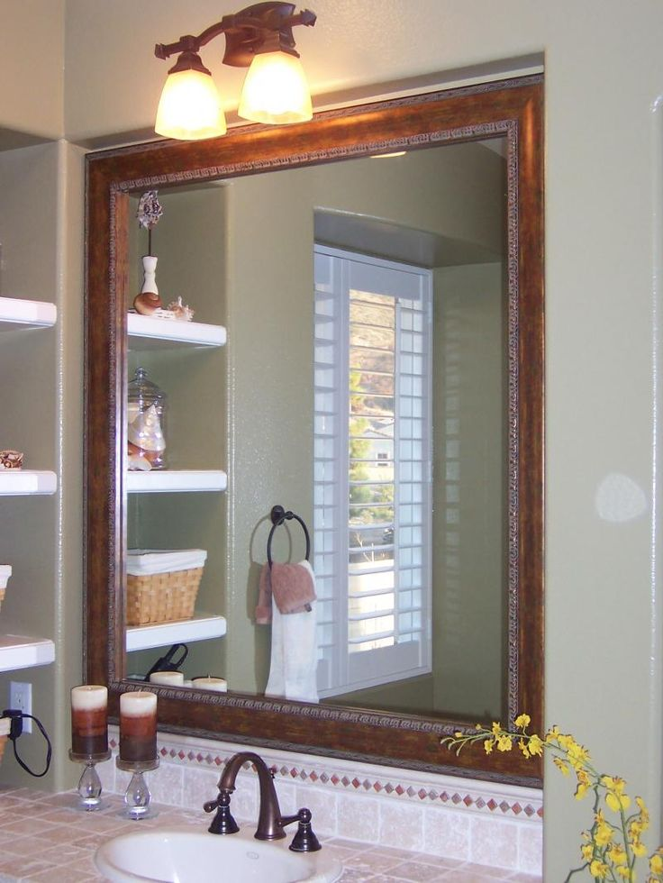 1000 ideas about bathroom mirror lights on pinterest for Bathroom mirrors and lighting ideas