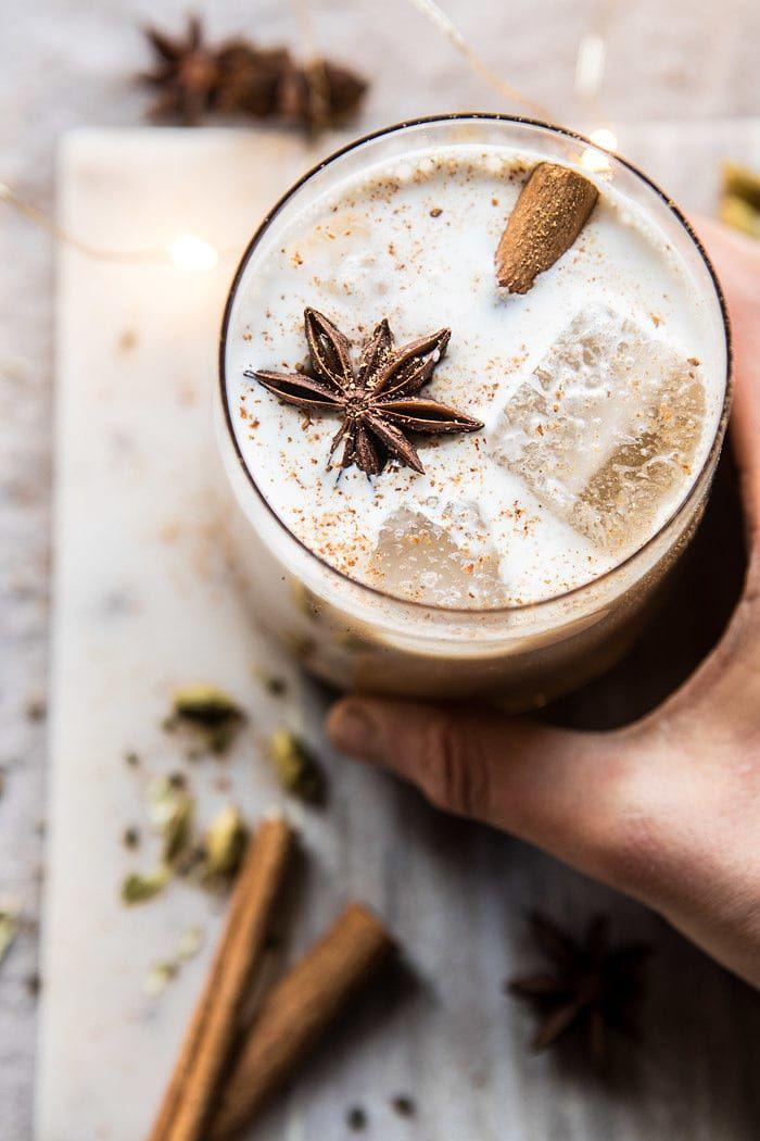 Vanilla Chai Tea White Russian   halfbakedharvest.com @hbharvest