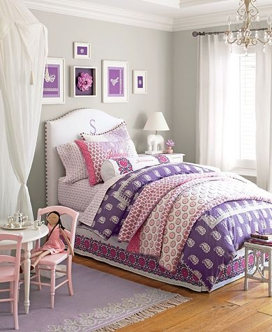 best 25 pottery barn bedrooms ideas on pinterest 11728 | 057390104033d820f9ee105167e0cd91 grey girls bedrooms girls bedroom purple