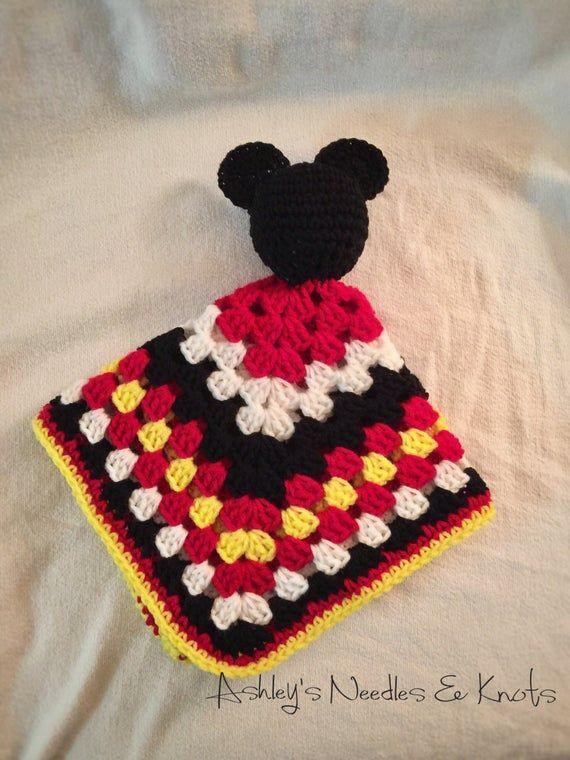 Crochet Comfort Mickey