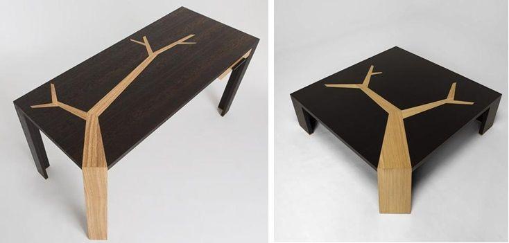 DIY Tree table