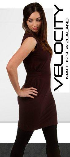 Merino Dress - NZ Made - Merino wool clothing - Velocity NZ