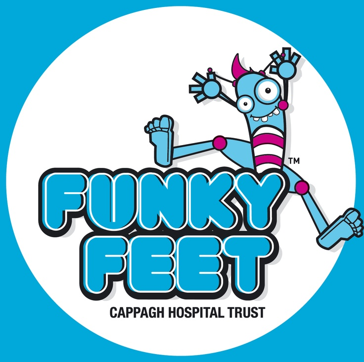 Funky Feet Day™ // Cappagh National Orthopaedic hospital is a public hospital which cares for patients from all over Ireland.