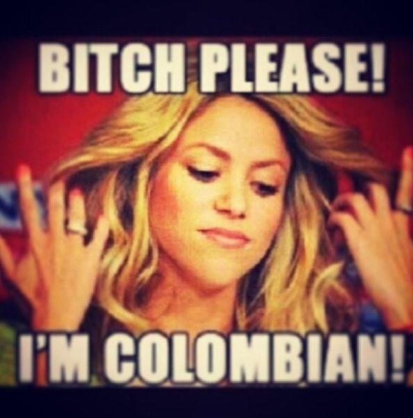 Crazy Columbian Woman No We