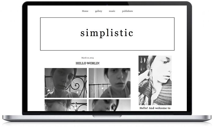 Pre-made #wordpress & #blogger templates can be purchased here: www.etsy.com/... ! #bloggers #blog #theme #design #web #graphic #layout #simple #minimal #stylish #modern #black #white #handwritten www.donttellanyone.net