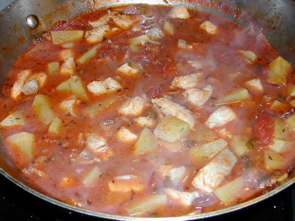 Catfish stew yummm pinterest for Southern fish stew recipe