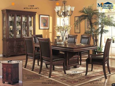 Cherry 44x 92 Dining Table With A 24 Panel Leaf - CHERRY DINING TABLE BASE