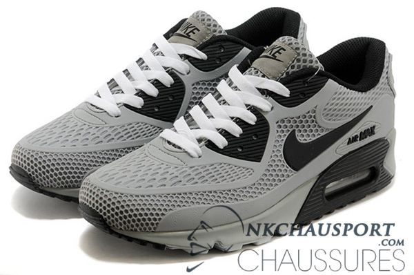 check-out 7d632 a738c chaussure NIKE AIR MAX 90 2016 homme grise noir | Chaussure ...