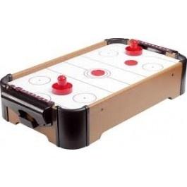Magnífico mini juego de hockey suspendido por aire.Desafía a tus amigos a divertidas partidas de Hockey Table.