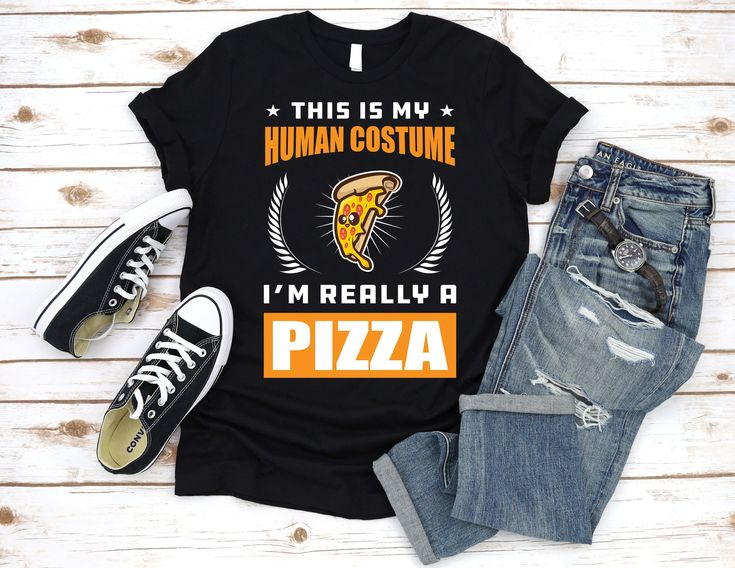 This Is My Human Costume I'm Really A Pizza T Shirt, Pizza Lover, Bodysuit, Youth, Infant, Hoodie