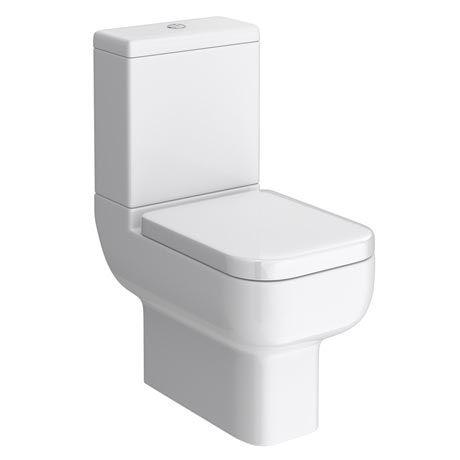 Maisy Lou Close Coupled Toilet & Cistern inc Soft Close Seat [PT-DAY001] - £149.99 : Platinum Taps & Bathrooms