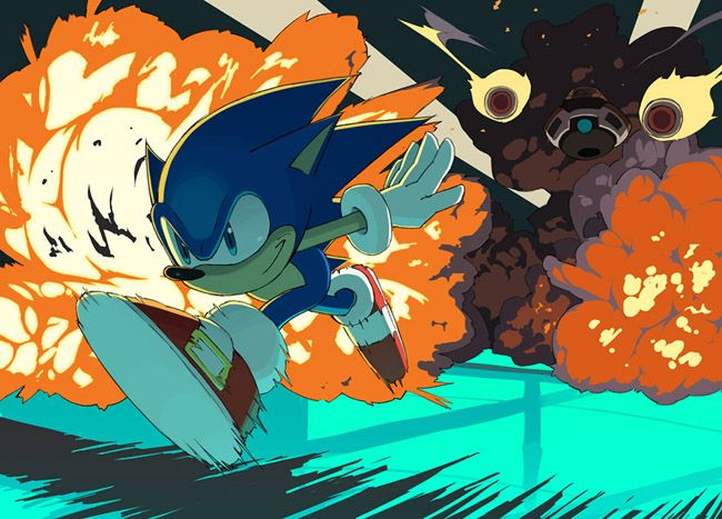 Como seria o Sonic ' the Hedgehog ' em primeira pessoa?