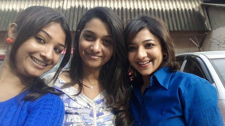 Priya Bhavani Shankar With her Colleague Selfie