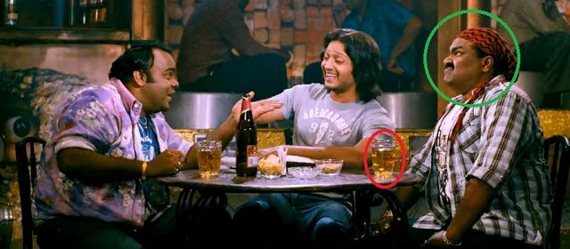 DOUBLE DHAMAAL movie mistakes