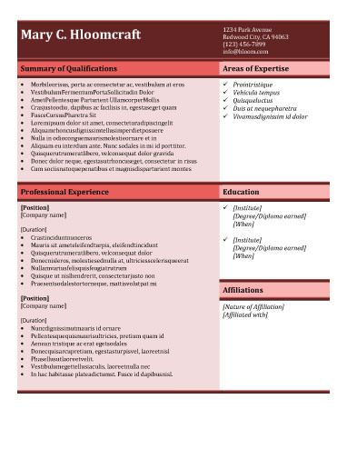 91 best RESUME images on Pinterest Curriculum, Resume and Cocktails - one page resumes