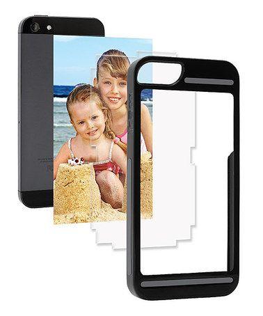 Black frām Case for iPhone 5/5s #zulilyfinds