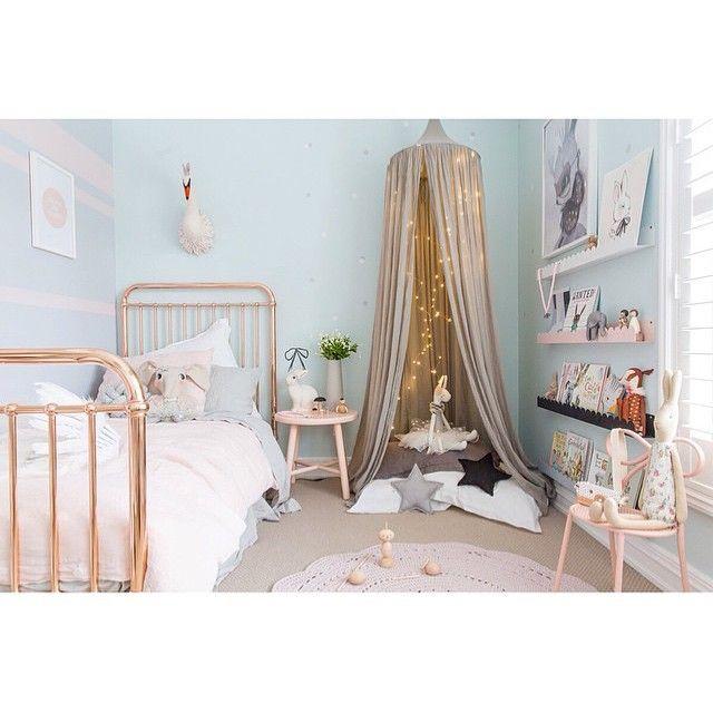 Best Kids Room Ideas Images On Pinterest Bedrooms Child - Fairy lights childrens bedroom