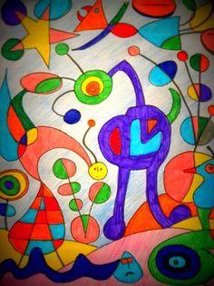 joan miro sculpture   Joan Miro – The Garden