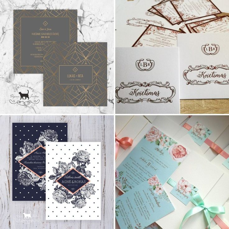 Favorite four of wedding invitations naminekatedesign 26