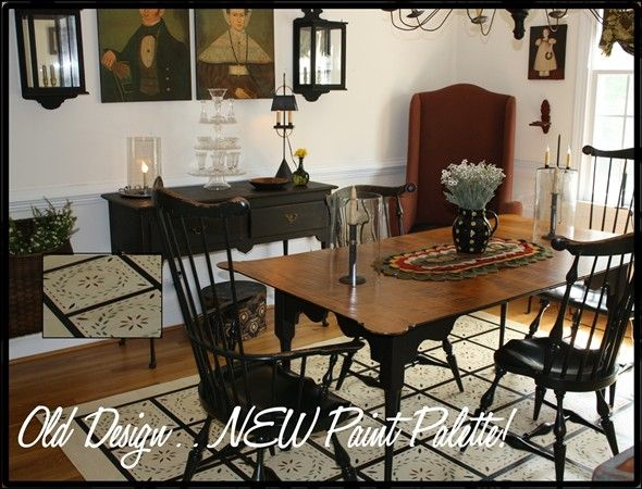 1000 images about primitive dining rooms on pinterest for Primitive dining room furniture
