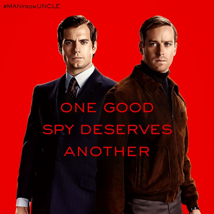 They just don't know it yet. Catch Henry Cavill and Armie Hammer in #ManFromUNCLE, in theaters August 14. | The Man from U.N.C.L.E.