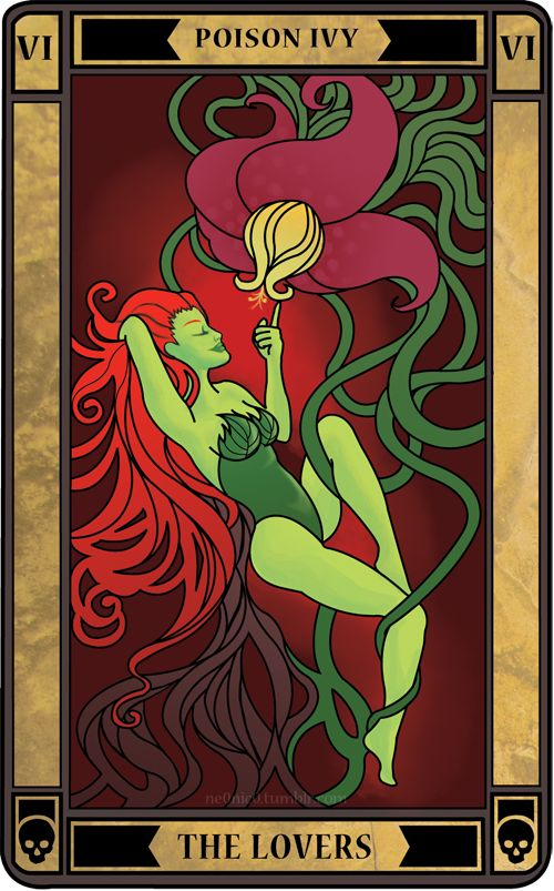 THE LOVERS: A successful decision is to be made, which is based upon maturity and foresight. Previous tensions or conflict will be resolved. It advises you to follow your heart and intuition if you are to take a leap toward achieving a goal. In practical terms, this card can also reveal outgrowing an environment, such as a young person leaving home and taking a step towards independance.FULL LIST OF BATMAN TAROT CARDSThanks to Moxl for the card suggestion