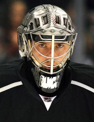 Jonathan Quick - Los Angeles Kings - i like to call him my little hedgehog, he's adorable and amazing!
