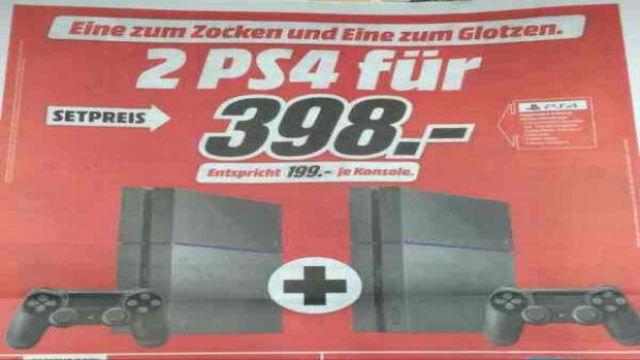 Zwei PS4 zum Preis von einer: Der PlayStation 4 Schnäppchen-Hammer! - http://ift.tt/2chvMH7