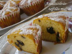 Aszalt szilvás muffin