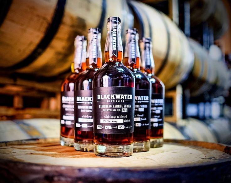 Blackwater Whiskey, Finishing Barrel Series Bottling No. 001