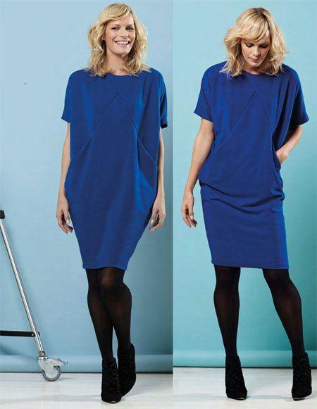 Jak uszyć sukienkę origami |  WomaNew.ru - lekcje szycia!