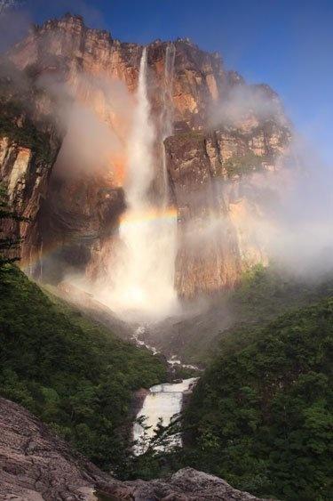 Az Angel vízesés, Venezuela