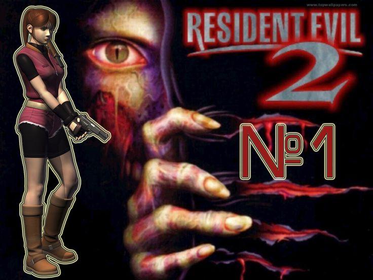 Resident Evil 2 прохождение Клэр А часть 1.