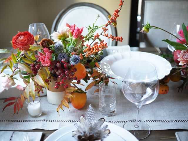 DIY Thanksgiving Centerpiece With Studio Choo