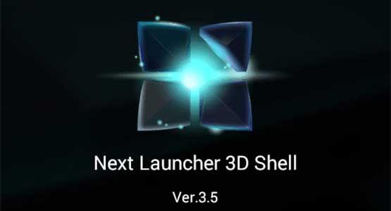 Download Next Launcher 3D Shell v3.5 Apk