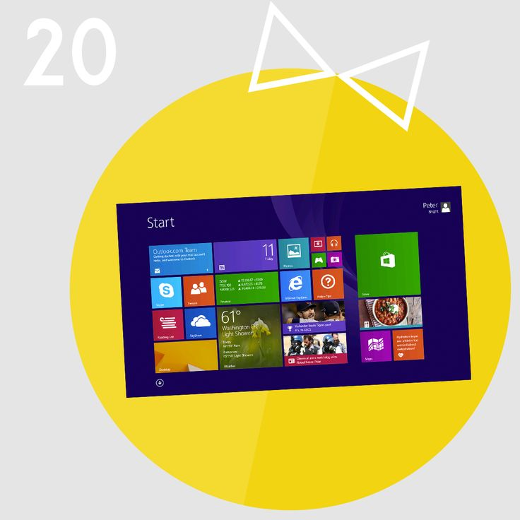Christmas Gift Idea #20 - Windows 8.1  Make a switch to Windows 8.1 - the fastest and most collaborative Operating System there is.   Loaded with exciting apps, ease of use and new slick design!