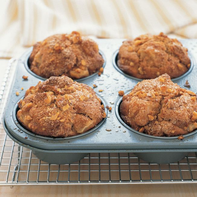 Choose firm, ripe pears with a buttery texture and sweet perfume, such as French Butter, Comice, Warren or Bartlett, for these muffins, perfect for a lazy winter weekend.   Vanilla-Pear Muffins   Butt