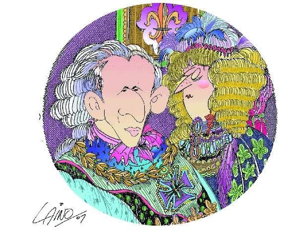Ilustración: Entrega de los Oscar, por Osvaldo Laino