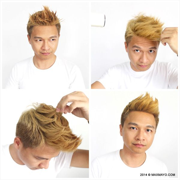 s hair style how to style to medium hair grooming asian 4905