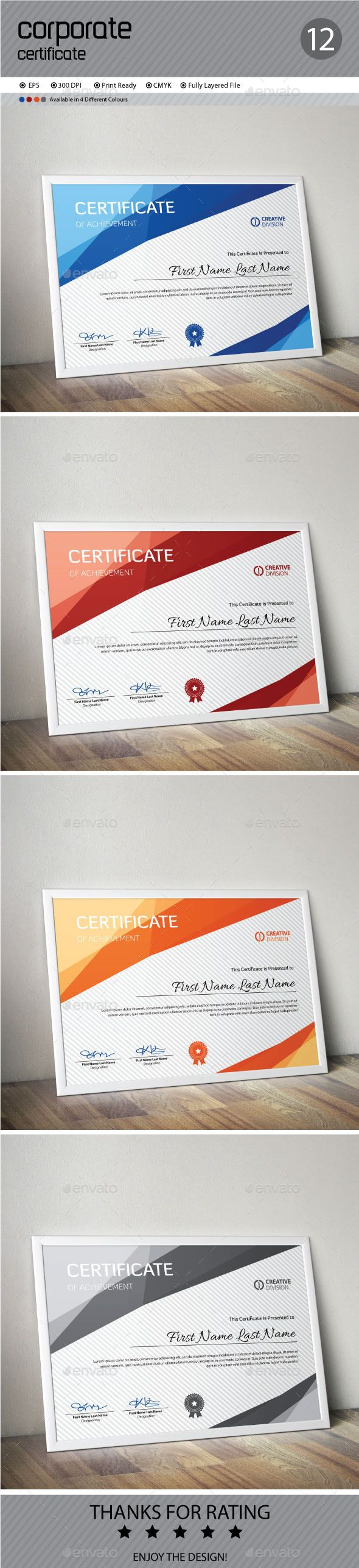 Certificate Template Vector EPS. Download here: http://graphicriver.net/item/certificate/12367206?ref=ksioks