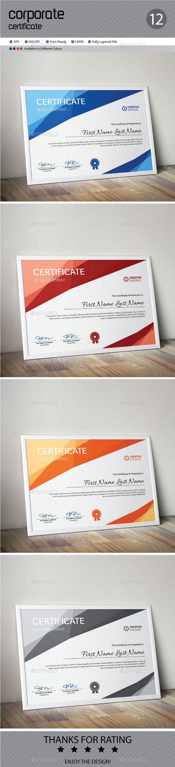 Certificate Template Vector EPS. Download here: http://graphicriver.net/item/certificate/12367206?ref=ksioks