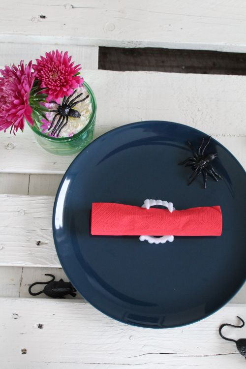 Halloween Tischdeko