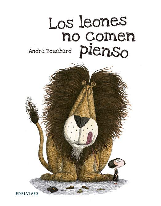 Para los amantes del humor negro infantil: @Edelvives presenta a la original mascota de Clementina, que no dejará títere con cabeza... para mantener una sonrisa permanente: https://www.veniracuento.com/content/los-leones-no-comen-pienso